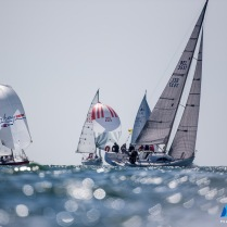 Third day of the Delta Lloyd North Sea Regatta, Scheveningen, the Netherlands, Saturday, 24th of May 2015.